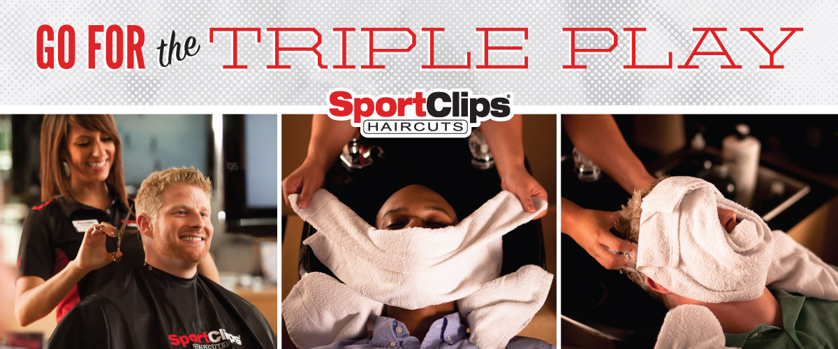 The Sport Clips Haircuts of Orange Park - Bolton Plaza  Triple Play